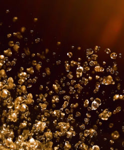 Drop of Liquid shining amber, Spa